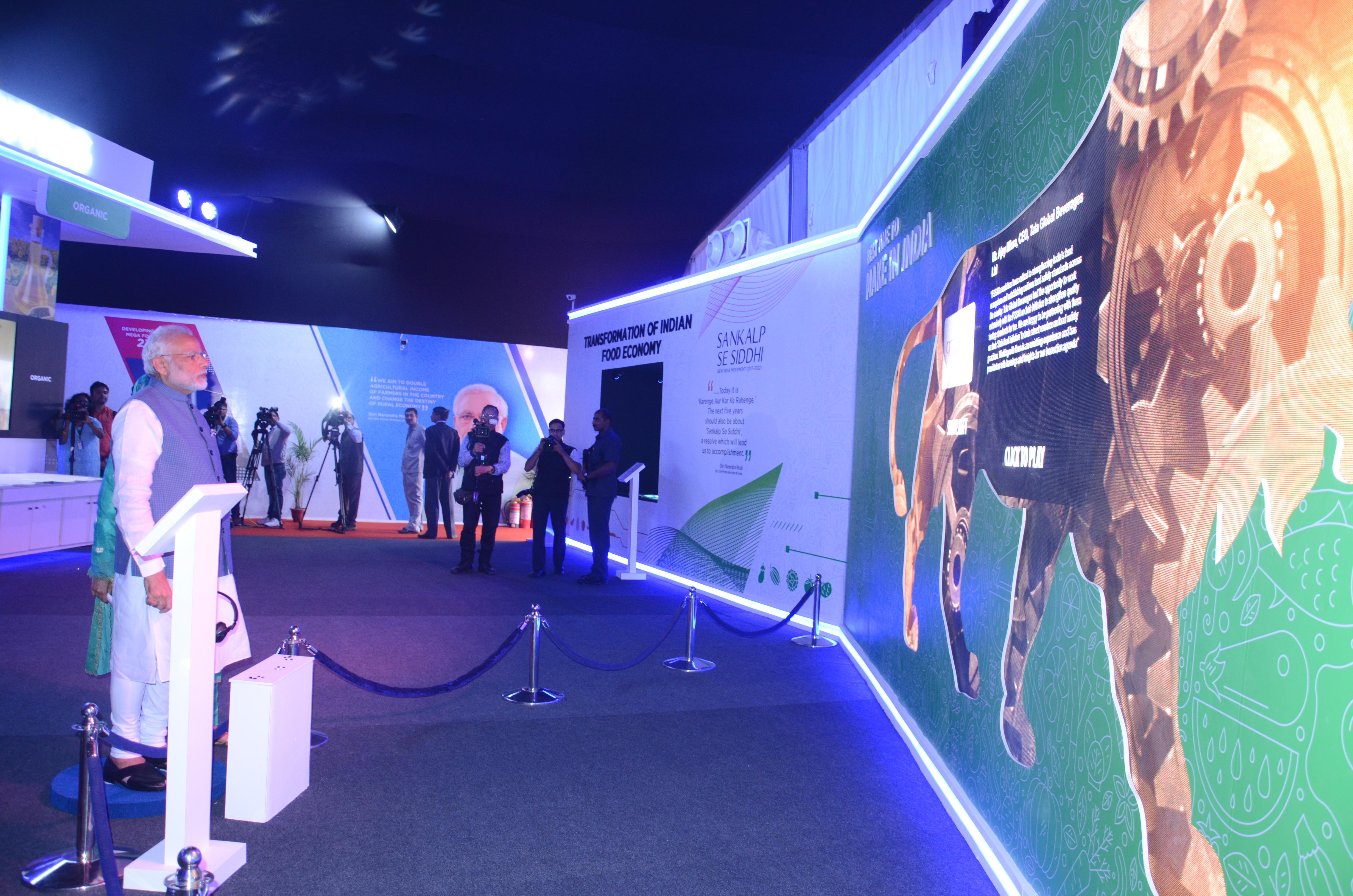 PM's Visit to WFI Exhibition & Theme Pavilion